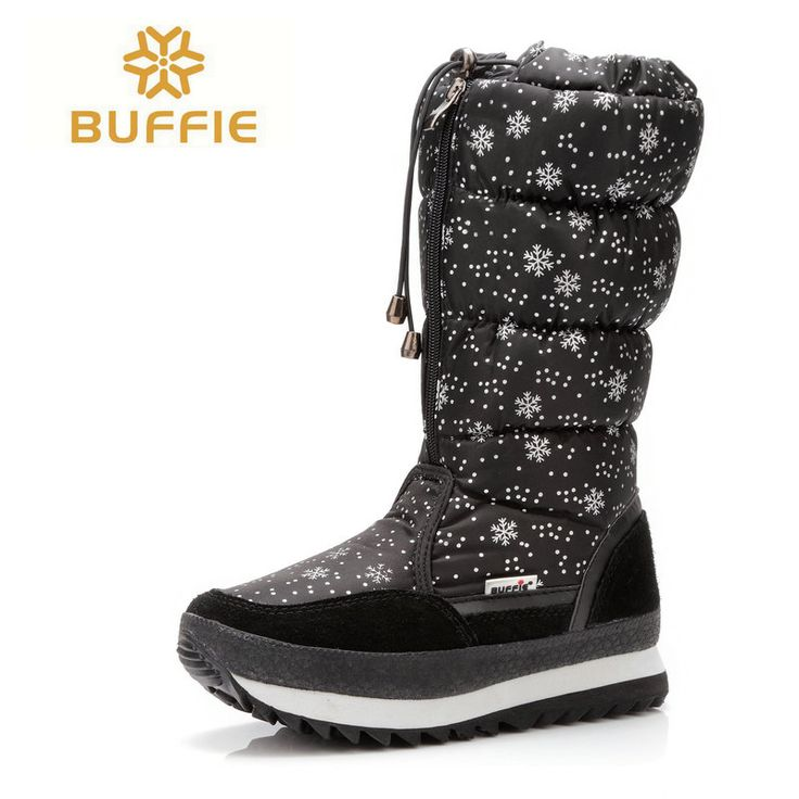 winter high boots women winter knee high shoe black fashion fabric girl and lady plush warm  fur shoes boots plus size 35 to 41 #clothing,#shoes,#jewelry,#women,#men,#hats,#watches,#belts,#fashion,#style