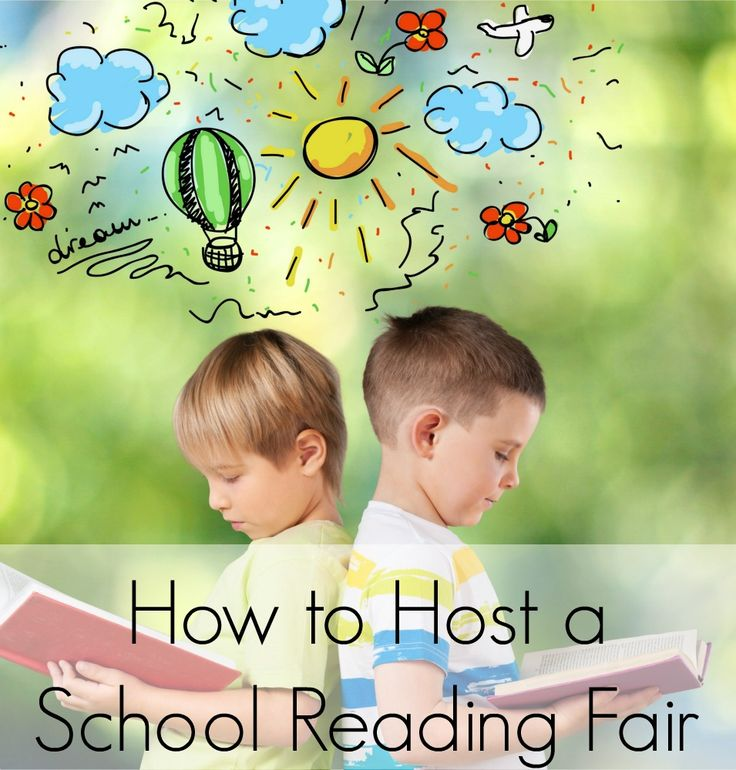 Tips and information for how to hosta school reading fair to display reading fair projects.