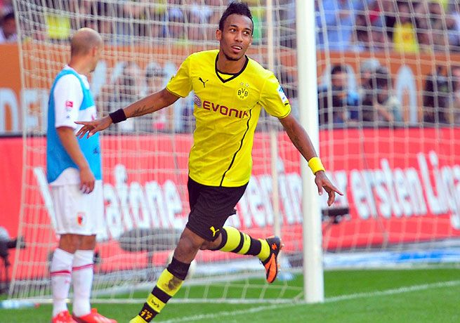 68. Pierre-Emerick Aubameyang Dortmund