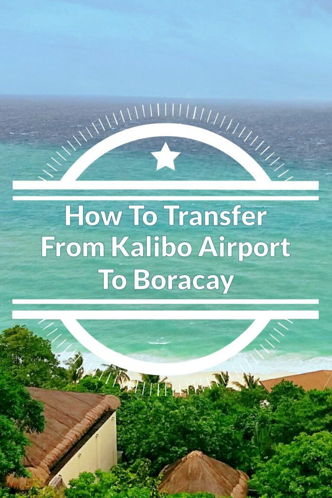 How to transfer from kalibo airport to boracay