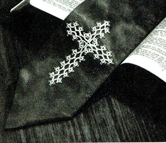 PDF Gothic Victorian Lacy Cross Tatting by TheAtticofKitsch