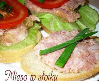 Mięso w słoiku z galaretką wg Aleex