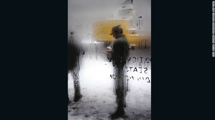 American photographer Saul Leiter is considered one of the pioneers of color photography.