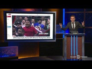 @Laura Gill: Greg Proops | Michelle Buteau | Ben Kronberg: Jumbotron Dance Off -- Chris shows Megan Neuringer, Ben Kronberg and Greg Proops videos of sports fans dancing, and the comedians come up with names for their moves. -- http://www.tvweb.com/shows/midnight/season-2/greg-proops-michelle-buteau-ben-kronberg--jumbotron-dance-off