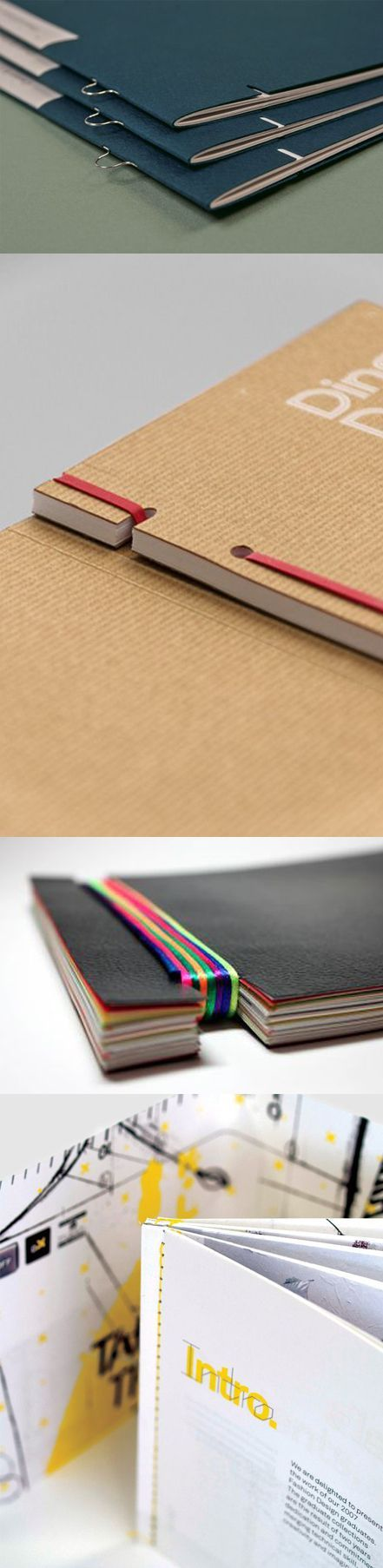 I love that there are so many ways you can create a book/journal and bind it with your own creative touch!