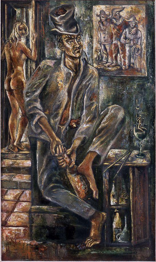 Autoretrato / Pintor Federico Cantú 1907-1989 Colección Lance Aaron