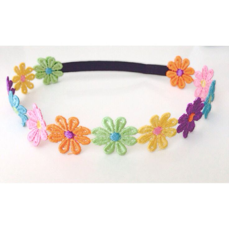 Flower headband for toddlers..