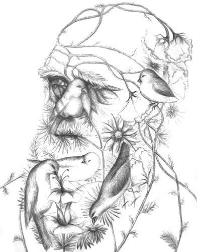 Charles Darwin                                                                                                                                                                                   re-pinned by www.theleafypaw.com