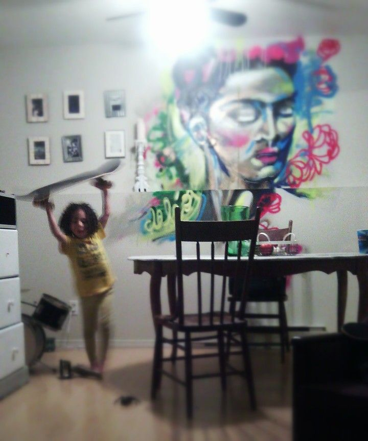Growing up in a creative home
