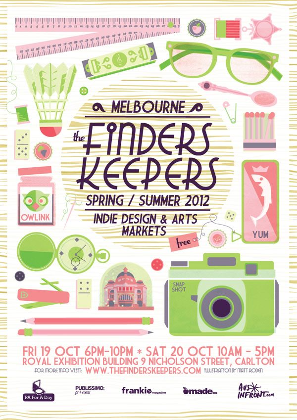 The Finders Keepers markets | http://www.thefinderskeepers.com