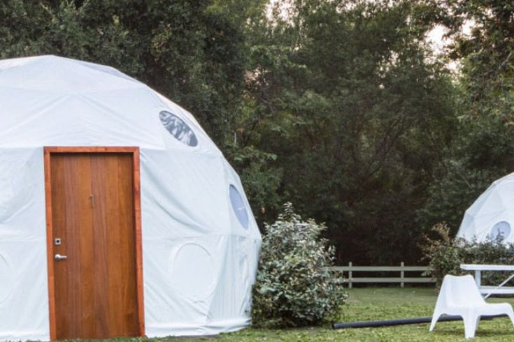 Shelter Dome Homes - Extant TV Series Domes - Studio Domes