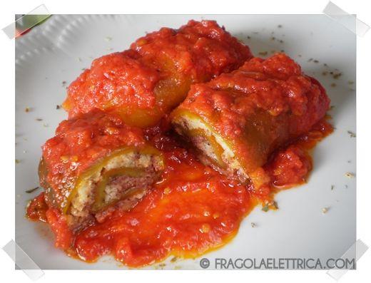 INVOLTINI DI PEPERONI -DIVISI- fragolaelettrica.com Le ricette di Ennio Zaccariello #Ricetta