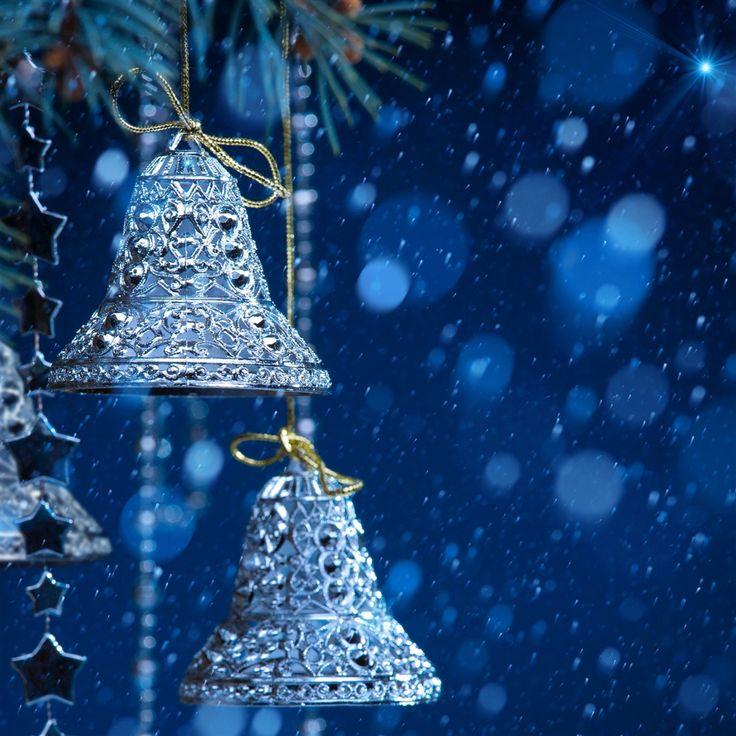 Christmas Bells #iPad #Air #Wallpaper