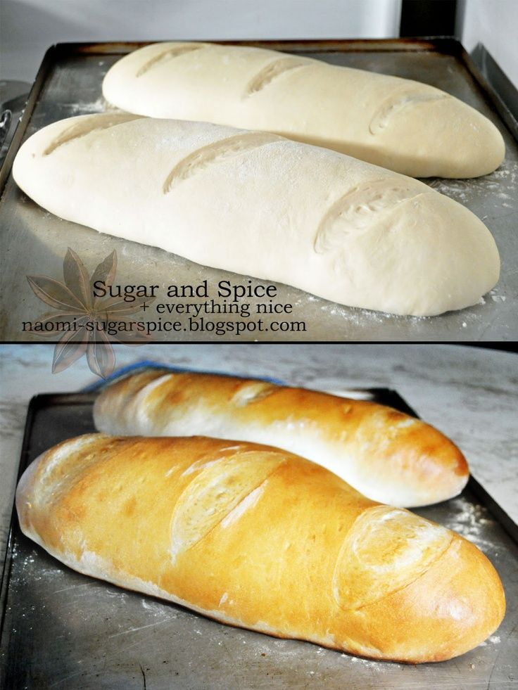 Easy French Bread Recipe - I LOVE french bread.. and it's easy to make.. just don't eat wheat much any more.