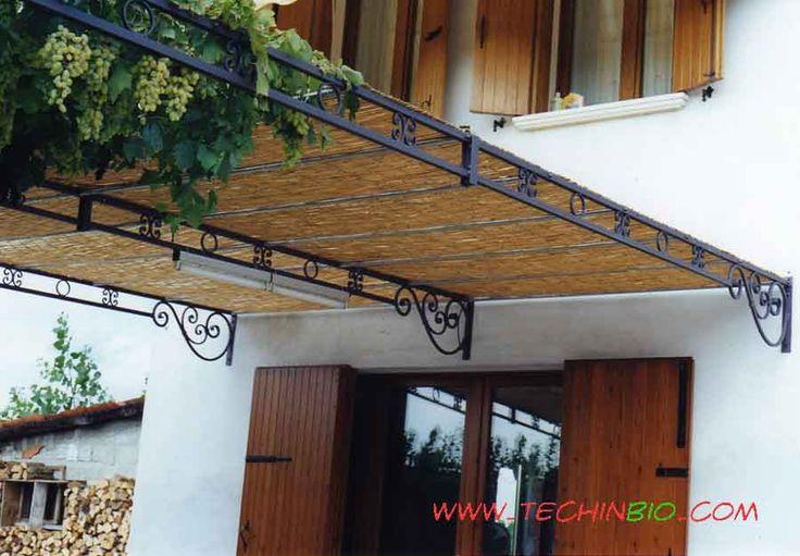 Pergole in ferro battuto, pergolati ferro, Pergola su misura, design