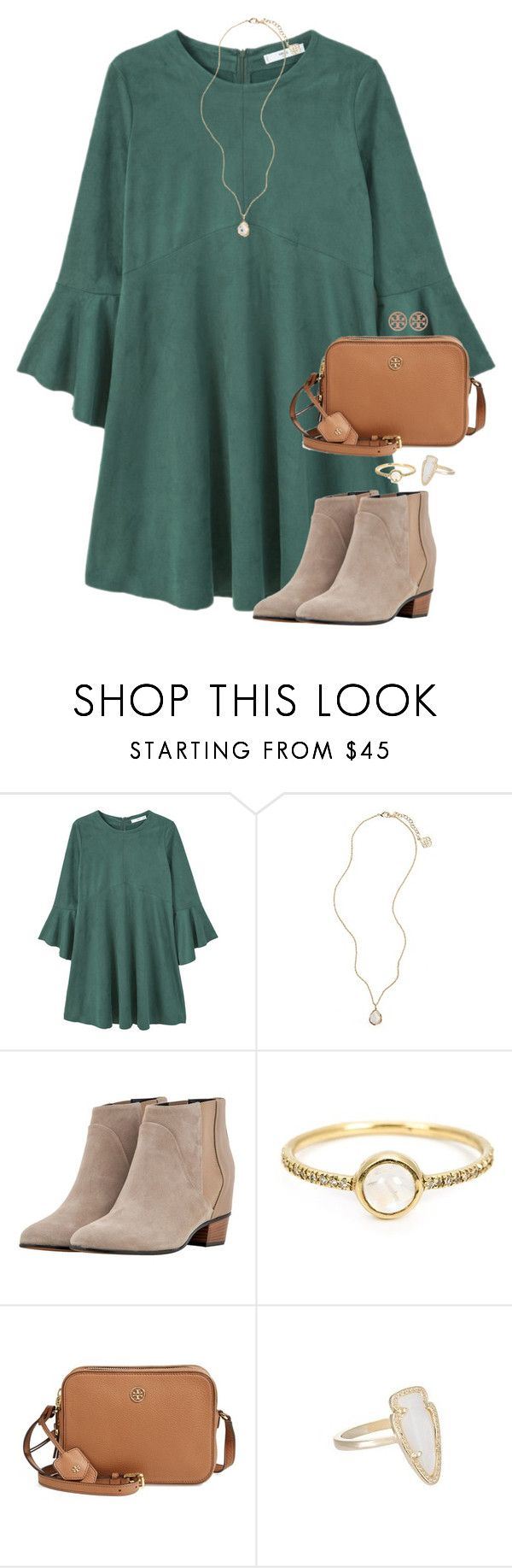 """By the grace of God."" by amberfmillard-1 ❤ liked on Polyvore featuring MANGO, Kendra Scott, Golden Goose, Irene Neuwirth and Tory Burch"
