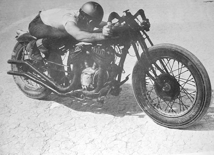 max bubeck indian chout motorcycle  How did they do it? ...... getting all those records on the salt flats with the most basic of machinery! Indian V Twin Engined racer.