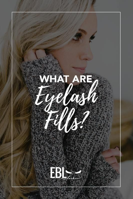 "Today we are going to talk a little bit about what eyelash fills are and what they mean for your client. The basic technique for applying eyelash extensions on your clients is using tweezers (see our earlier blog) to place a synthetic eyelash extension on a natural lash to ""fill out"" the client's lashes."