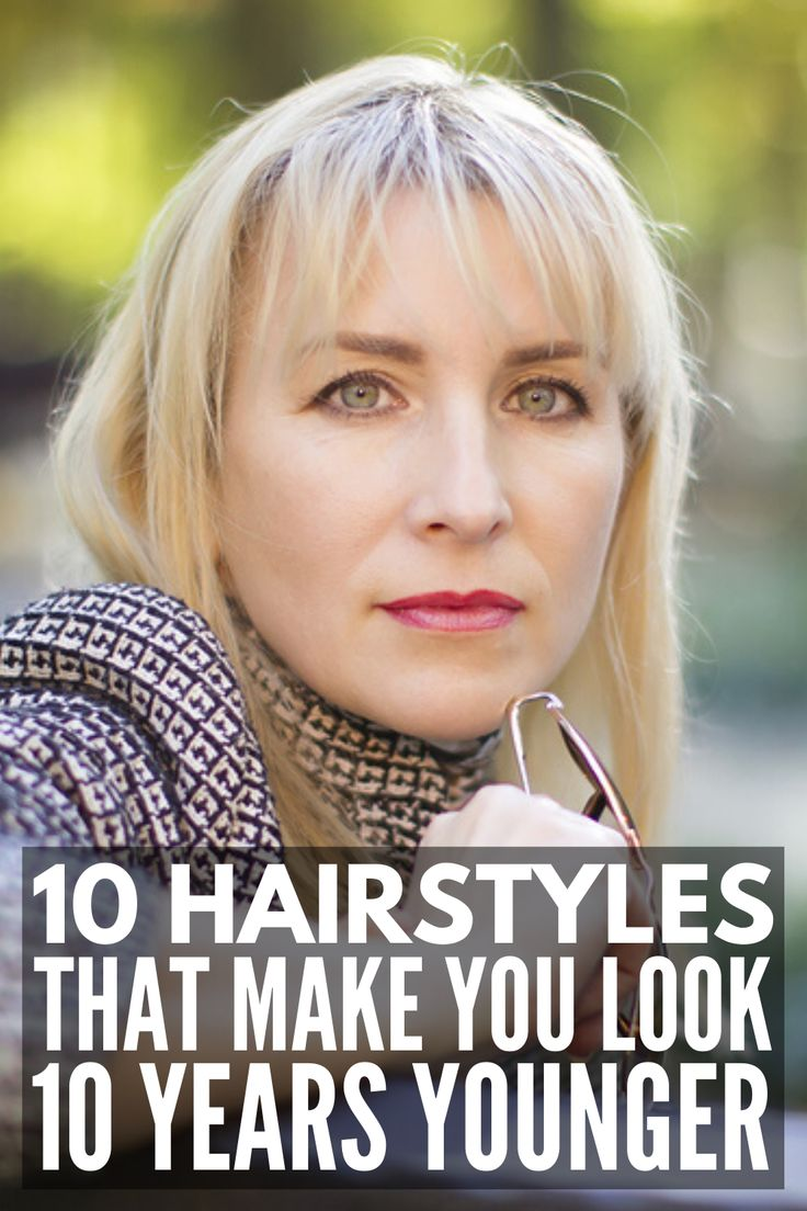 32+ Does short hair make an older woman look younger ideas in 2021