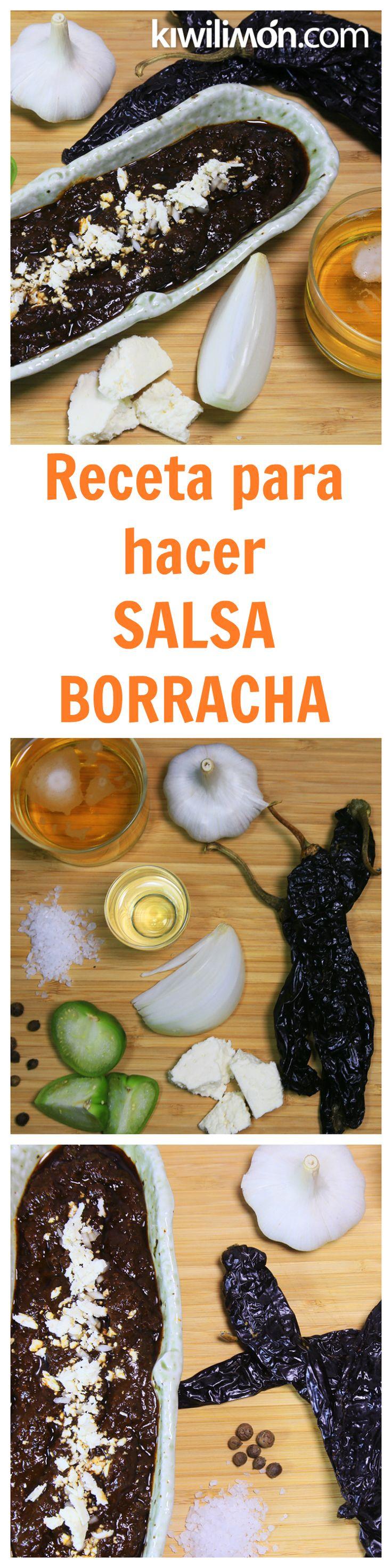 Esta fácil y deliciosa receta de salsa borracha con cerveza te encantará y sólo te tomará 20 minutos hacerla. Es la tradicional salsa mexicana que te quitará ese antojo de algo picosito.
