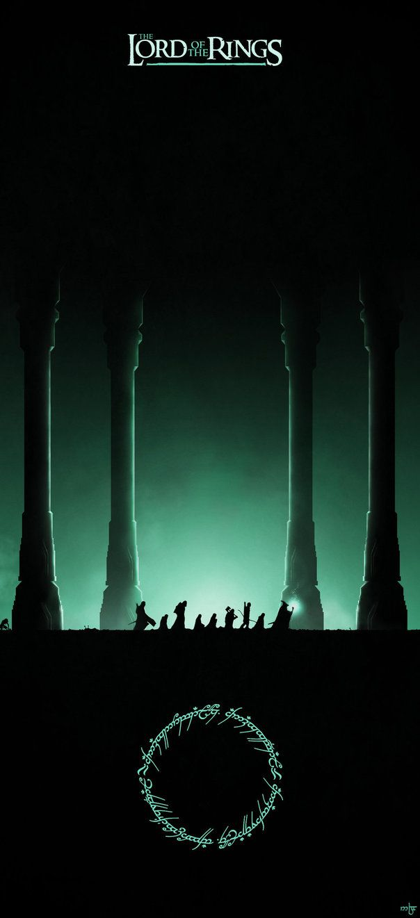 The Lord of the Rings: The Fellowship of the Ring - movie poster - Noble--6.deviantart.com