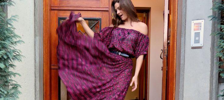 Jenny Skavlan: Her kan du lære hvordan du på 20minutter kan sy en kjole eller skjorte med bare skuldre.