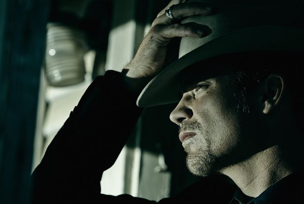 ... Olyphant as Deputy U.S. Marshal Raylan Givens in Justified Season 6