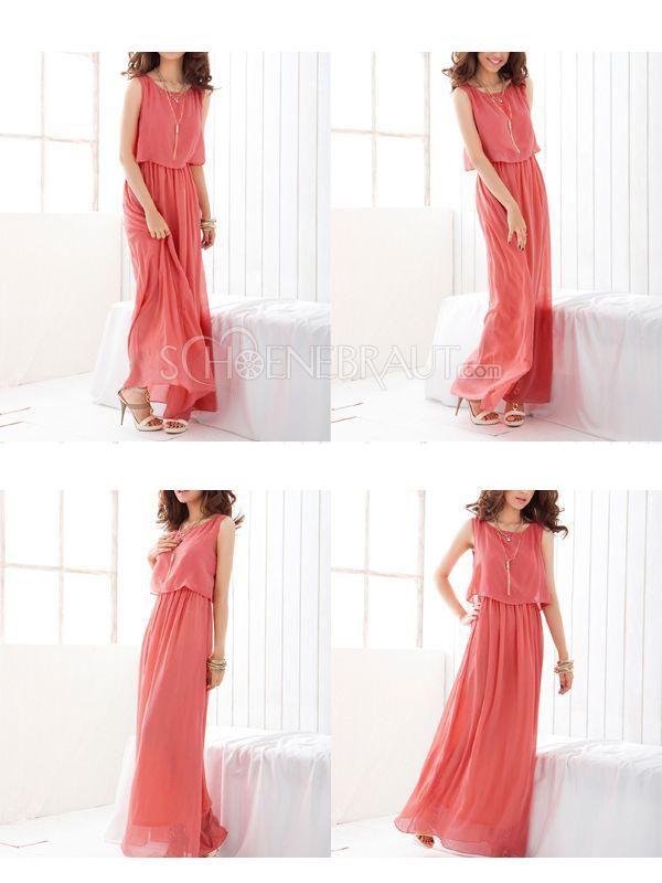 Sommerkleider lang pastell