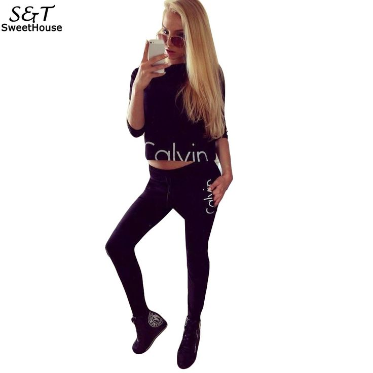 Women Tracksuits 2Pcs Suits Letter Printed Hoodies Set Sweatshirt and Pants Two Pieces Women Spring Clothing Women Sporting Suit