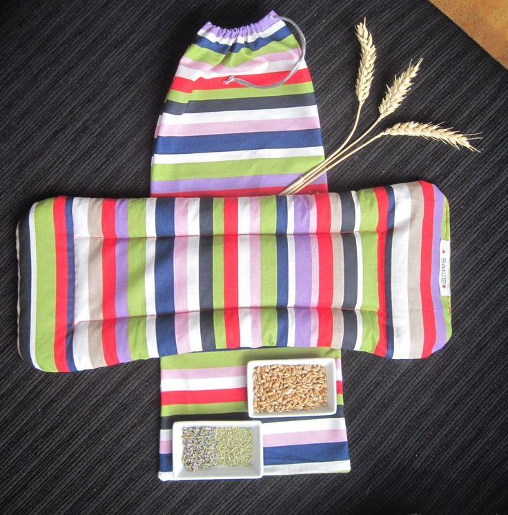 Saco térmico artesanal de semillas