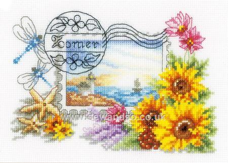 Buy Summer Stamp Cross Stitch Kit online at sewandso.co.uk