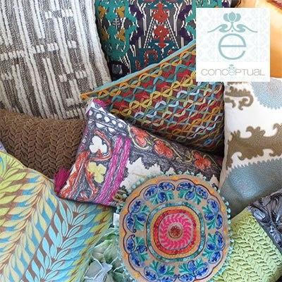 De múltiples tamaños, formas, tejidos y aplicaciones, los cojines son perfectos para hacer que tu hogar refleje un estilo propio y práctico. www.conceptual.com.co