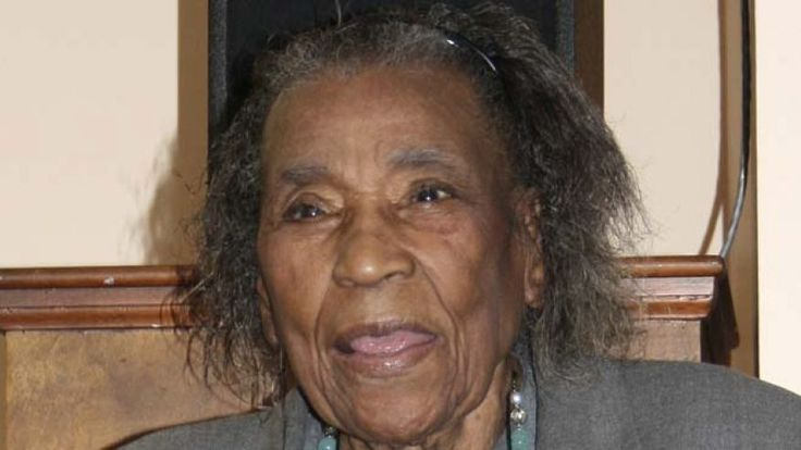 Amelia Boynton Robinson in 2009. Now Resting Peacefully August 26, 2015. An Amazing 104 Years of Living and still youthful