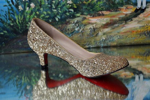 Low Heels Gold mother of  the bride