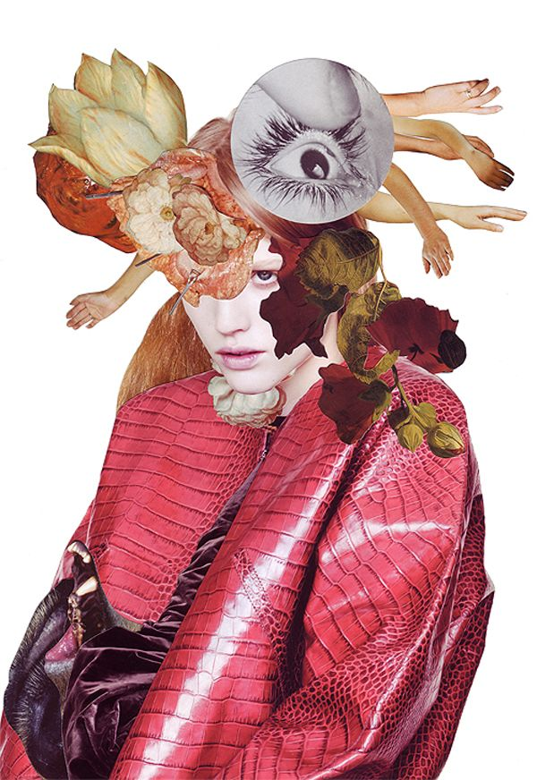Ashkan Honarvar 'Vanitas' Collages
