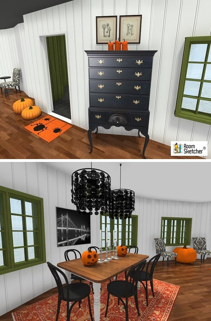 Halloween Is Approaching Start Planning Your Decor Today With RoomSketcher Home Designer Its