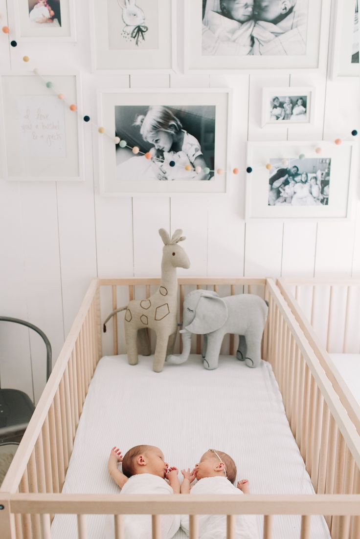 Furniture of america clint twin metal race car bed in red - Ten22studio Newborn Boy And Girl Twin Photography Nursery