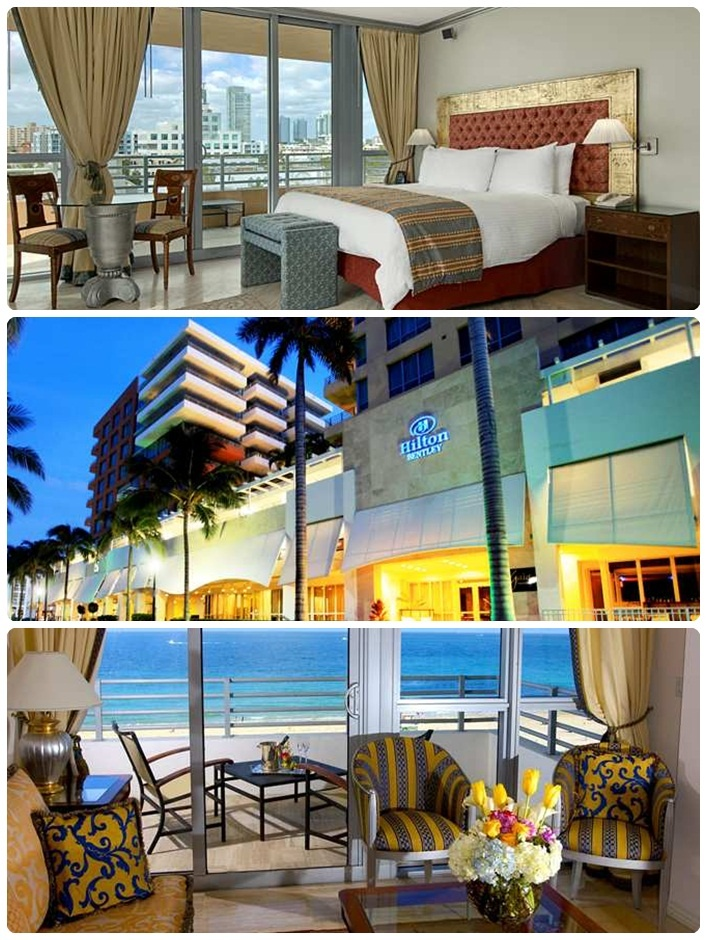 Hilton Bentley Miami South Beach Is A 4 Star Hotel The Facility 5 Km