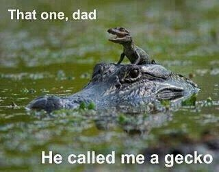 A touching Father and Son moment.