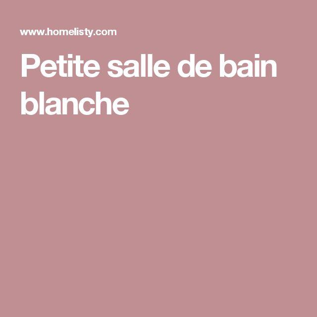 Best 25 Salle De Bain Blanche Ideas On Pinterest Salle