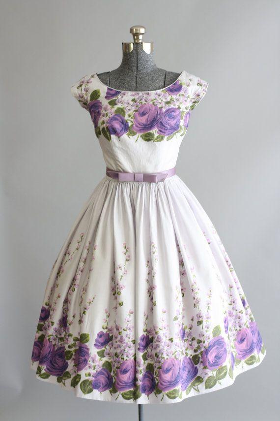 Vintage 1950s Dress / by TuesdayRoseVintage
