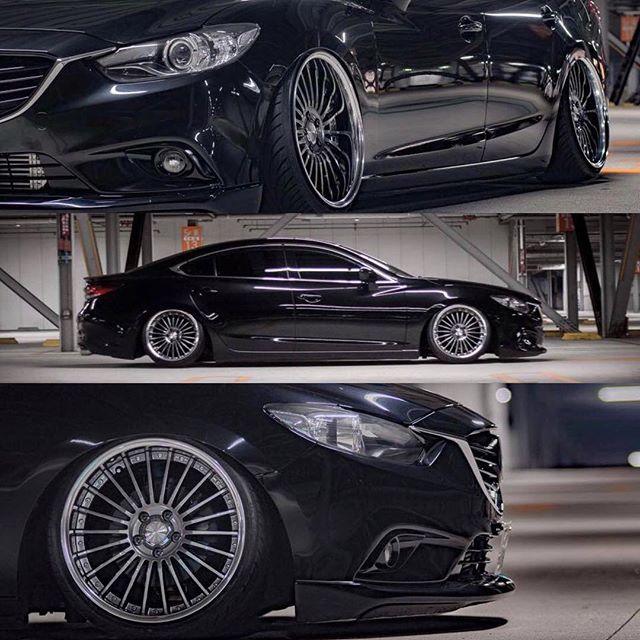 Daiki's 3rd Generation Mazda 6 on Work Lanvec LF1. : @daikimito . . . #mazdafitment #mazda #fitment #nomarkcustomcarphotography #mazda6 #mz6 #atenza #japan #jdm #slammed #workwheels #lanvec #lanveclf1 #slammedsunday #slammedsundays #stance #cars #automotive