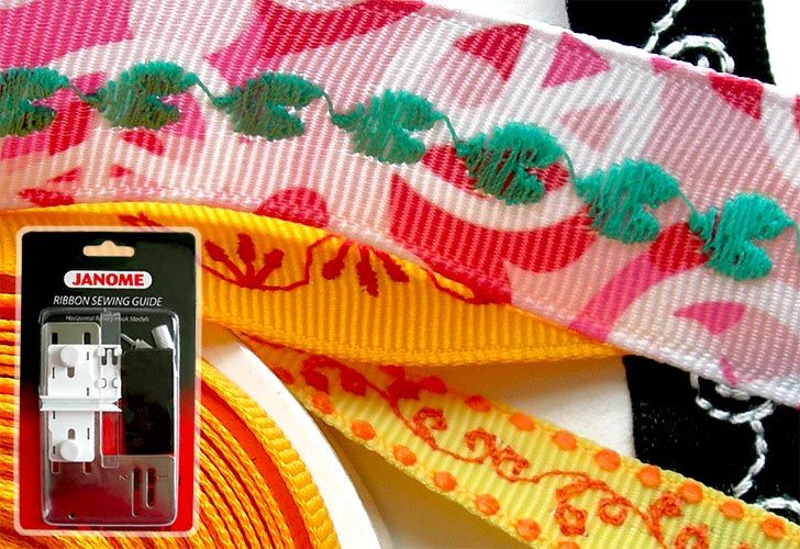 Accessories We Love: Janome Ribbon Sewing Guide