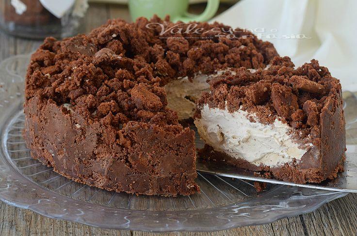 Torta sbriciolata al cappuccino