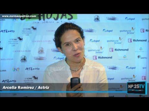 Arcelia Ramírez Actriz manda saludos al público de NP25TV 2017 2