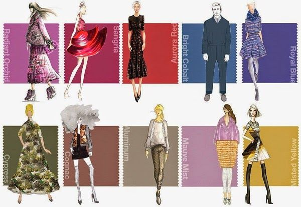 Color Palette Inspiration: Pantone Fall 2014 Color Report | Things Festive Weddings & Events