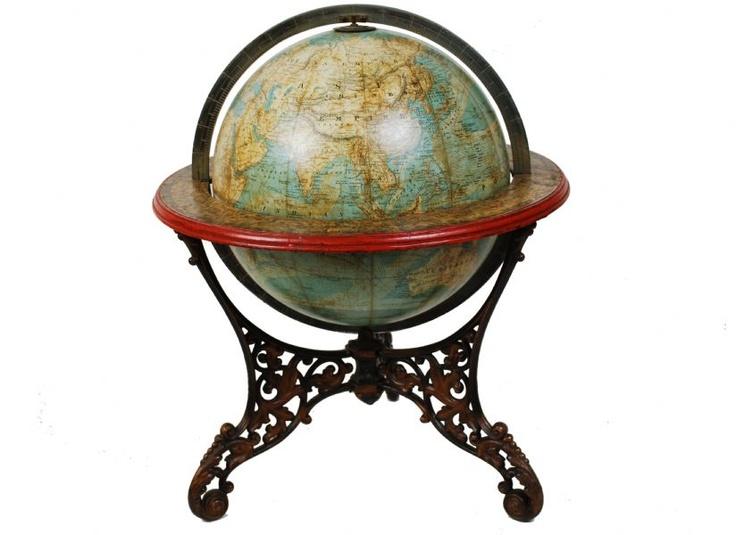 Globo antico Schedler / Antique globe by Schedler