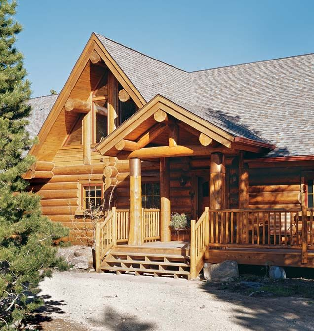 56 best log cabin home images on pinterest cottage log for Secluded mountain homes for sale
