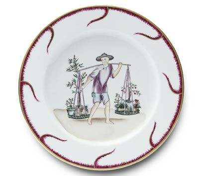 Alberto Pinto Chinoiserie Buffet Plate #6