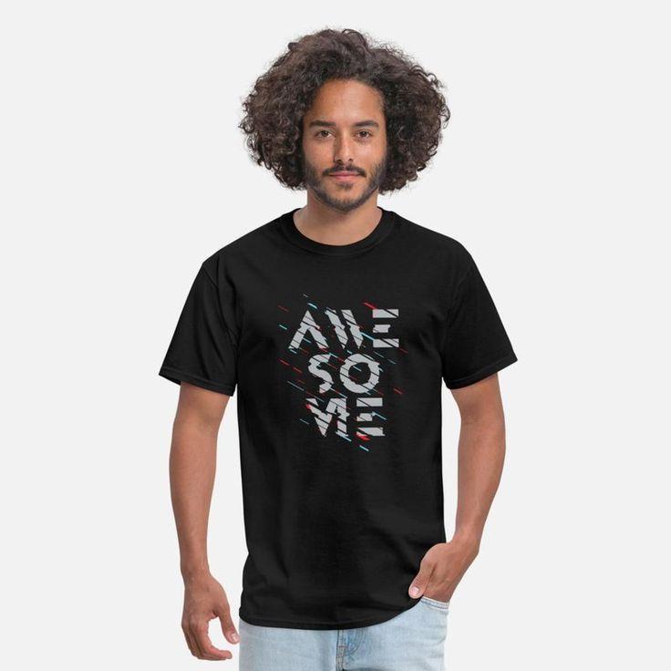 Awesome Men's T-Shirt – black